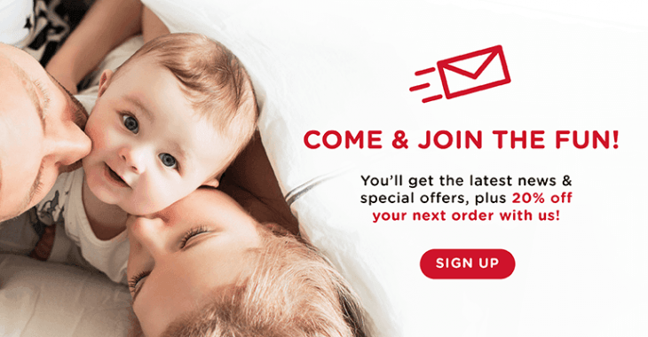 Join our Nuby family | Sign up for a chance to win £100 of Nuby products | Sign up today.