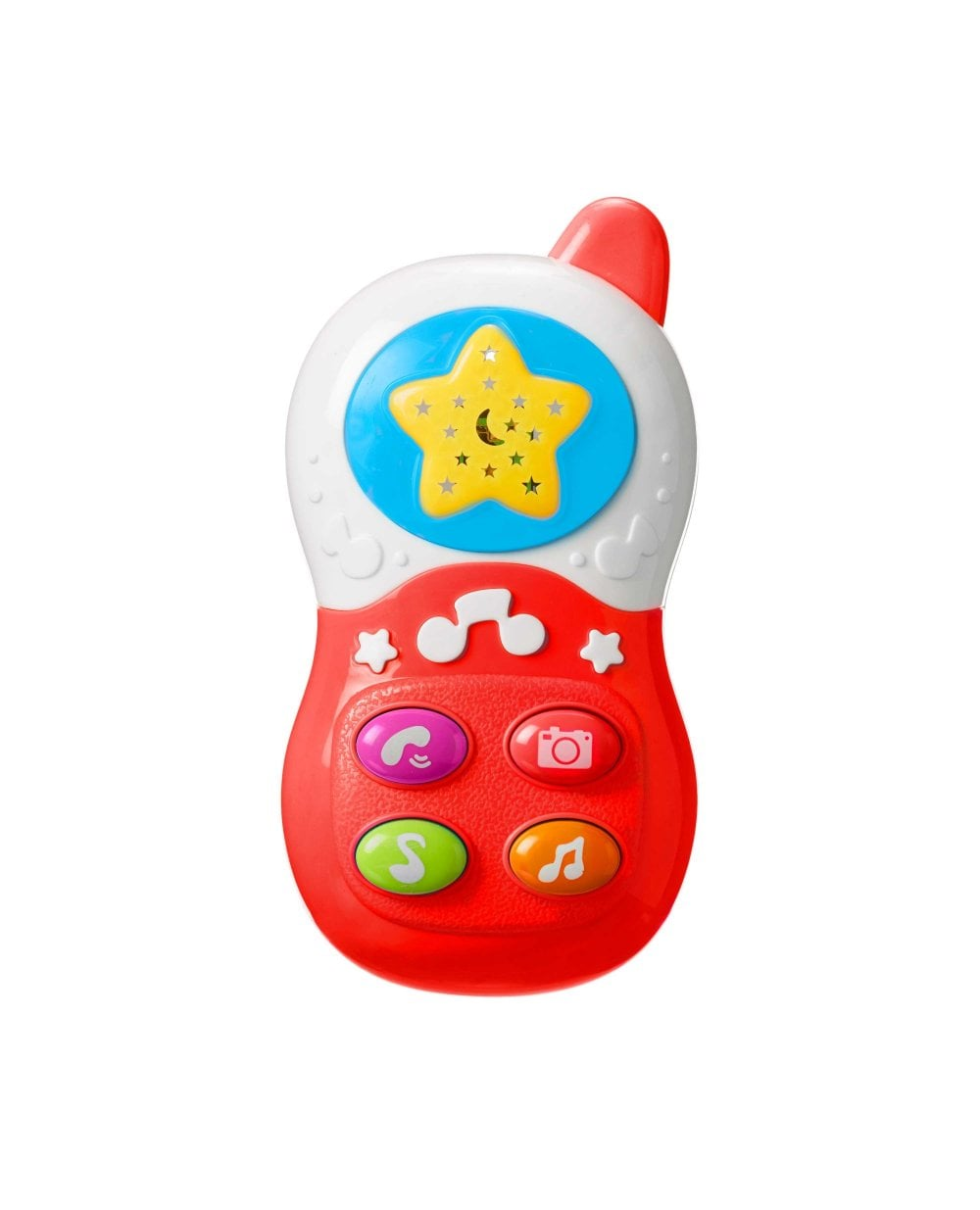 Nuby Baby Toy Mobile Phone Colour: Red