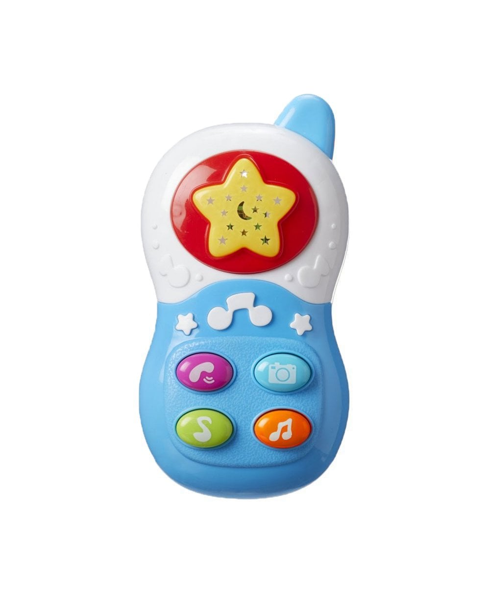Nuby Baby Toy Mobile Phone Colour: Blue
